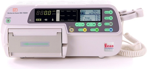 Infusion pump model SN-1500H, Sino MDT Ltd.