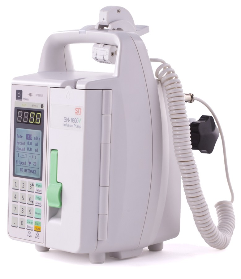 [21049] Infusion pump model SN-1800V, Sino MDT Ltd.